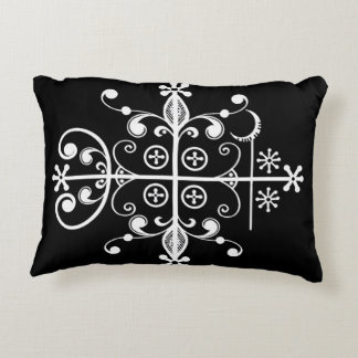 Papa Legba Veve Voodoo Art Pillow