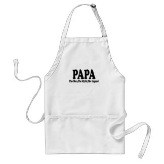 Papa Man Myth Legend t-shirt.png Standard Apron