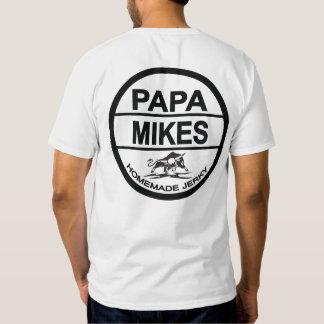 Papa Mikes Homemade Jerky Logo Tee Shirt