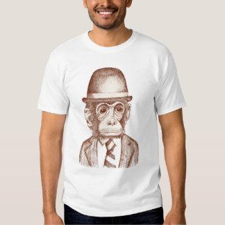 Papa Monkey T Shirts