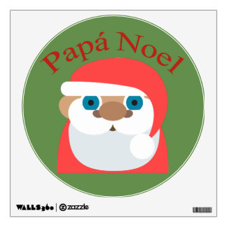 Papa Noel (Santa Claus) Shirt Wall Sticker