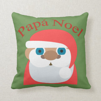 Papa Noel (Santa Claus) Throw Pillow