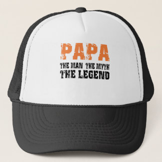 Papa (Orange) Trucker Hat