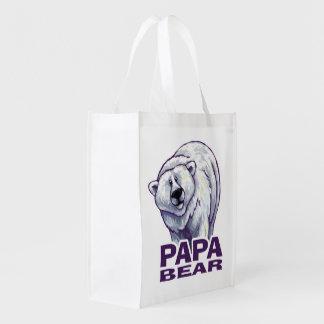 Papa Polar Bear Market Tote