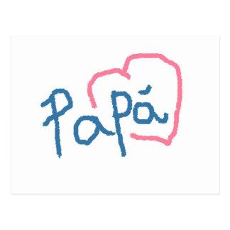 Papa - Postal Postcard