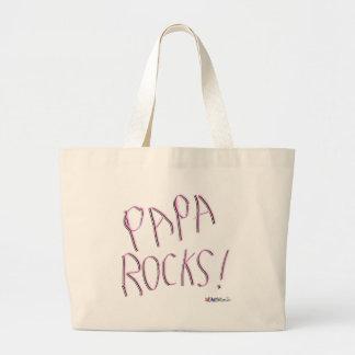 Papa Rocks! Tote Bag