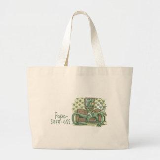 Papa-Sore-Ass Jumbo Tote Bag