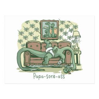 Papa-Sore-Ass Postcard