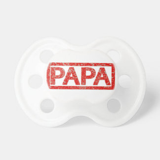 Papa Stamp Pacifier