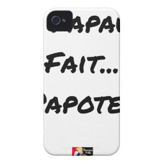 PAPACY MAKES CHATTER - Word games iPhone 4 Case-Mate Case