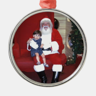 Papai_noel_-_santa_claus_ Metal Ornament