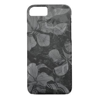 Papaloa Hibiscus Hawaiian Lava Rock Painting iPhone 7 Case