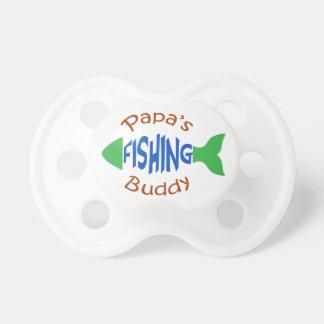 Papas Fishing Buddy Pacifier