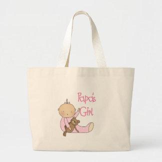 Papa's Girl Jumbo Tote Bag