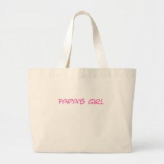 Papa's Girl Tote Bag