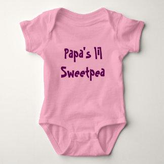 Papa's lil Sweetpea Baby Bodysuit