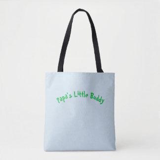 Papa's Little Buddy Tote Bag