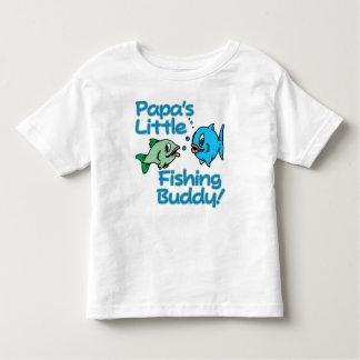 PAPA'S LITTLE FISHING BUDDY! T SHIRTS