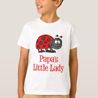 Papa's Little Lady T-Shirt