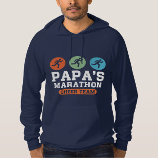 Papa's marathon cheer team hoodie