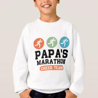 Papa's Marathon Cheer Team Sweatshirt