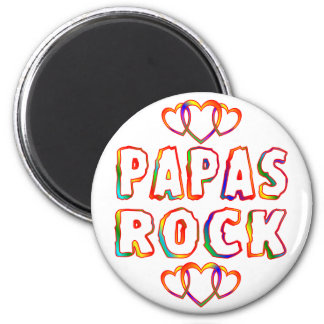 Papas Rock Magnet