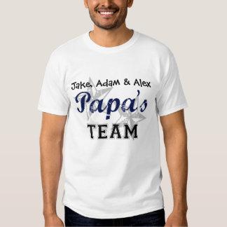 Papa's Team Shirts