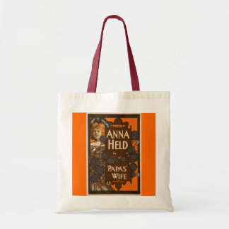 Papa's Wife - Budget Tote Canvas Bag