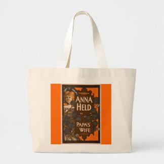 Papa's Wife - Jumbo Tote Jumbo Tote Bag