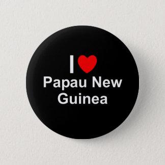 Papau New Guinea 2 Inch Round Button