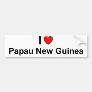 Papau New Guinea Bumper Sticker