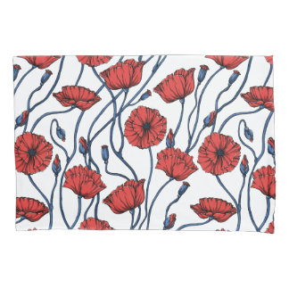 Papavers Pillowcase