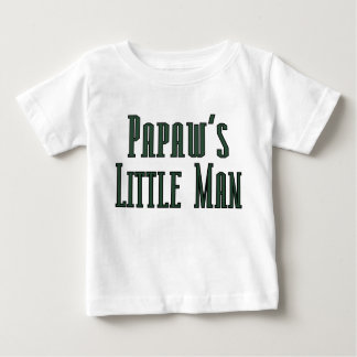 Papaws little man baby T-Shirt