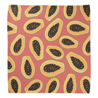 Papaya Fruit Bandana