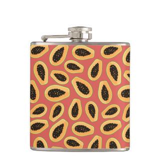 Papaya Fruit Hip Flask