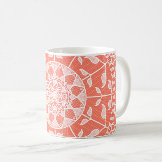 Papaya Mandala Coffee Mug