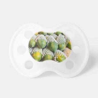 Papaya Pacifiers
