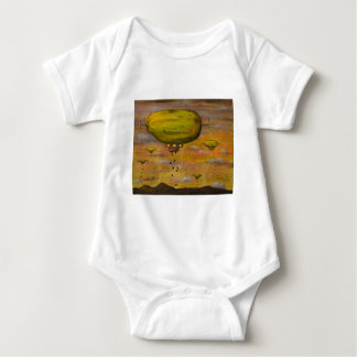 Papaya Sunset Baby Bodysuit
