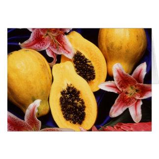 Papayas Card