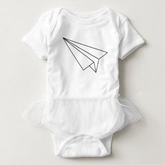 Paper Airplane Baby Bodysuit