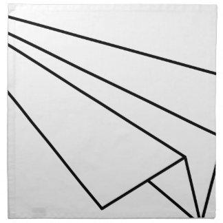 Paper Airplane Napkin