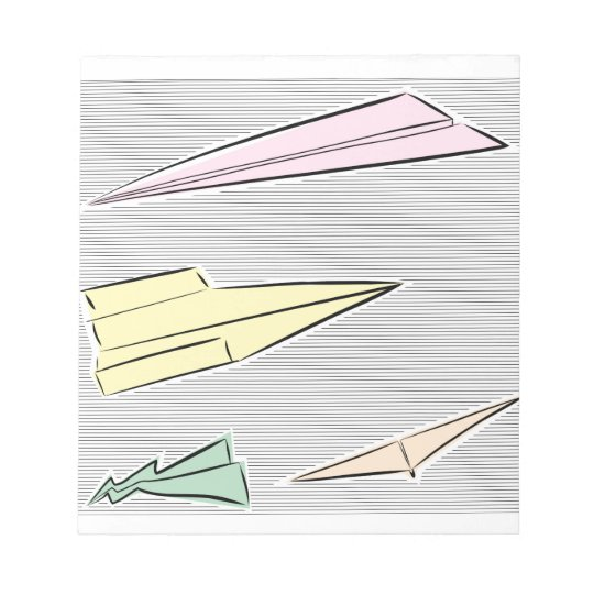 Paper Airplane Notepad