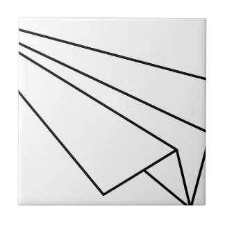 Paper Airplane Tile