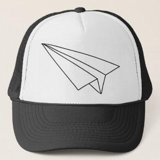 Paper Airplane Trucker Hat