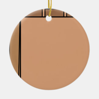 Paper Bag Ceramic Ornament