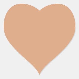 Paper Bag Heart Sticker
