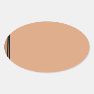 Paper Bag Oval Sticker