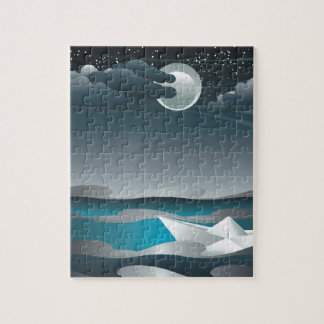 Paper Boat in the Sea 2 Jigsaw Puzzle