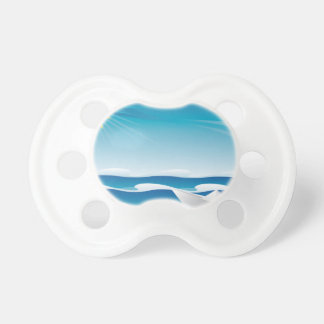 Paper Boat in the Sea Pacifier
