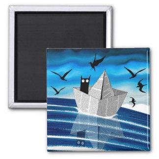 Paper Boat Magnet